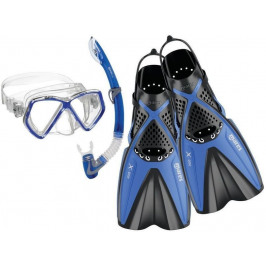Mares Set X-One Pirate Blue S