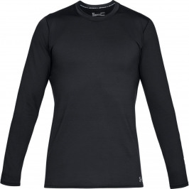 Under Armour Fitted CG Crew Mens Base Layer Black M